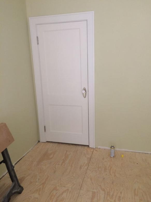 5 closet door